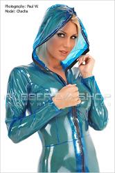 Female Plastic Clothing
