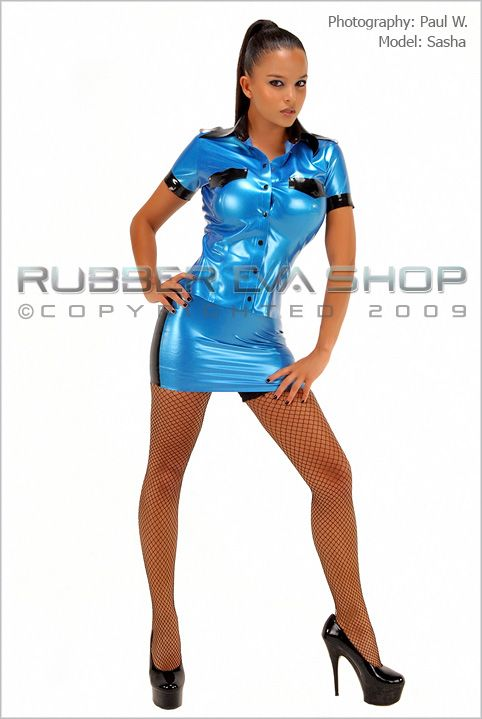 Rubber Police Officer Uniform