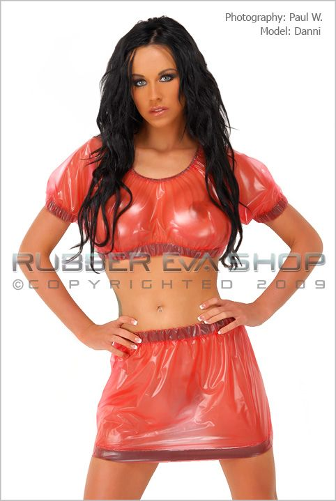 Plastic Gypsy Top and Skirt