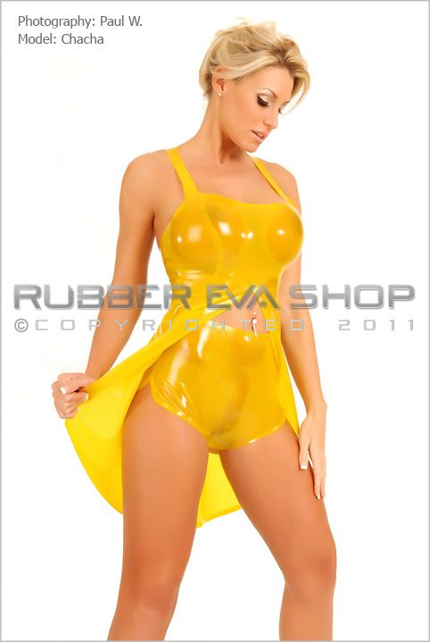 Rubber Baby Doll With Cami Knickers