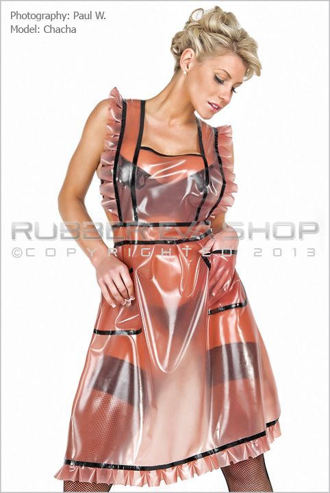Betty Rubber Apron