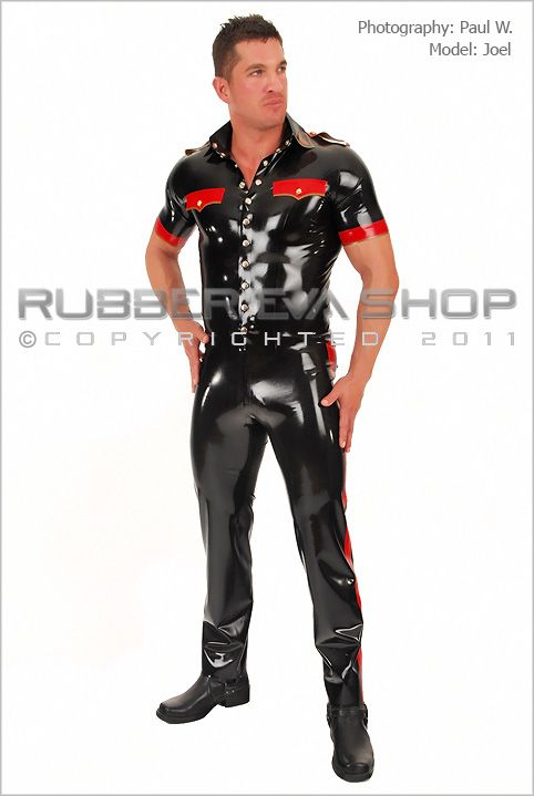 Rubber Military Outfit