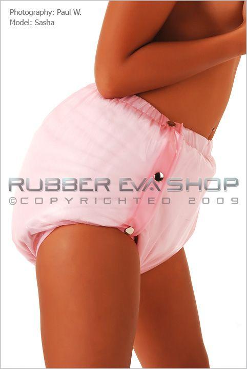 Plastic Side Popper Pants