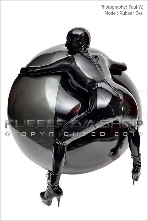 Huge Inflatable Rubber Bondage Ball