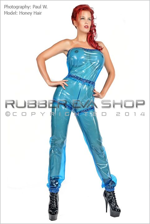 Stephanie Bowman Plastic Slimming Suit