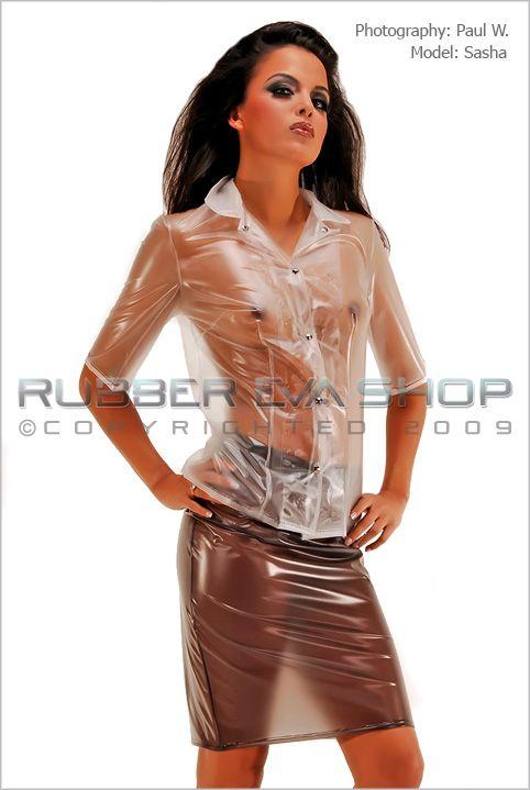 PVC Secretary Outfit