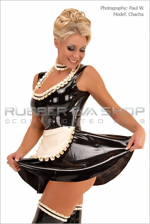 Frilly Rubber Maids Dress