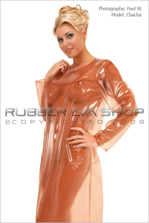 Long Rubber Nightdress