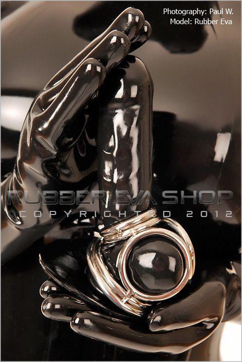 Solid Stainless Steel Ringed Cock and Ball Cage
