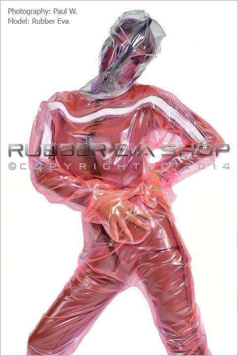 A Single Layer Inflatable Plastic Hazmat Suit