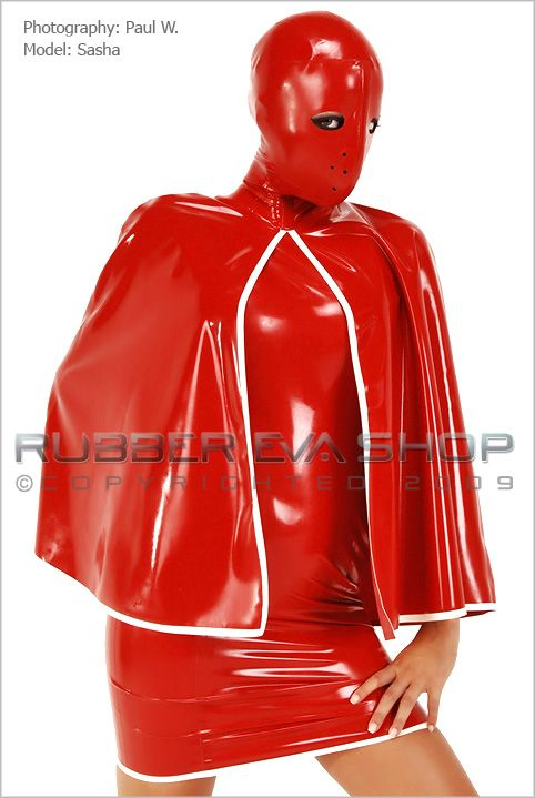 Hannibal Hooded Rubber Cape
