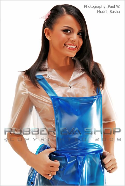 Plastic Schoolgirl Outfit