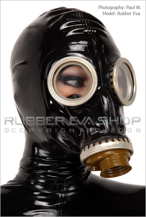 Russian Rubber Gas mask