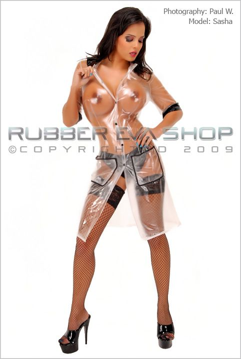 Plastic Nanny Outfit