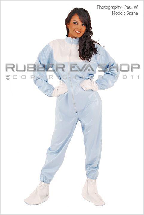 Adult Baby Plastic Sleepsuit