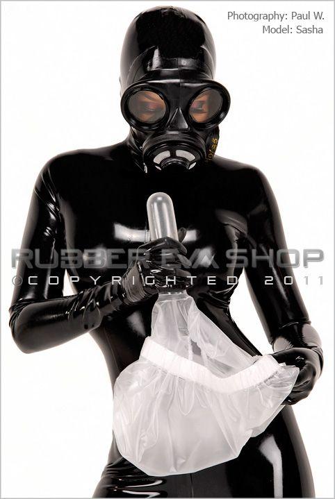 Plastic Pants With Internal Sheath