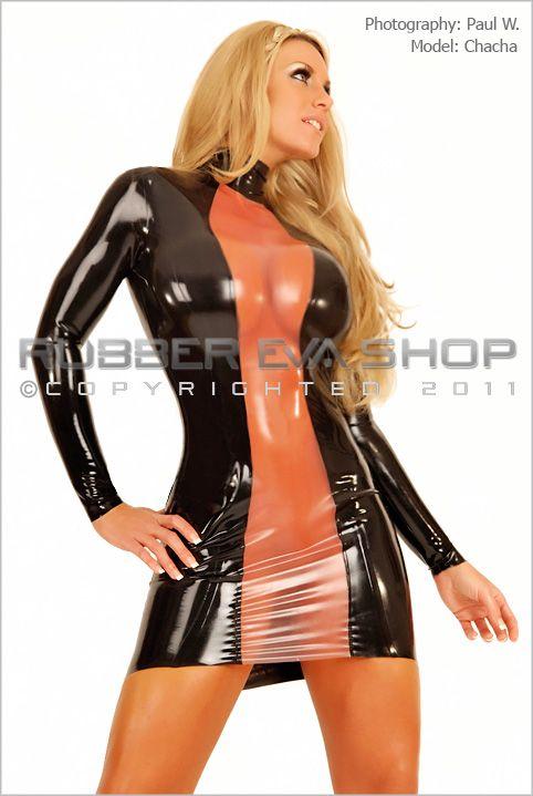 Rubber Strip Dress