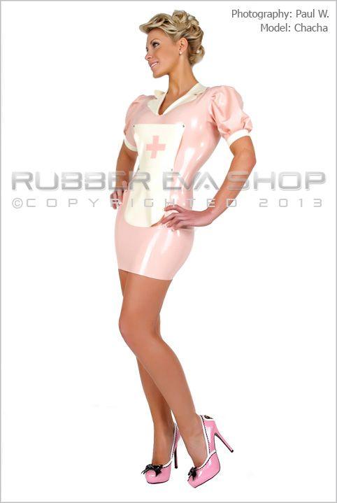 Sexy Rubber Nurse Dress