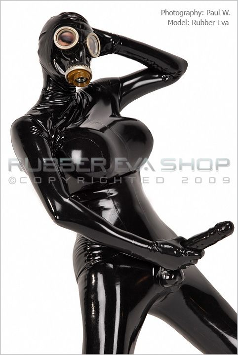 Rubber Cock Catsuit