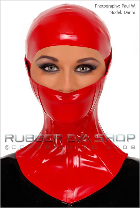 Heavy Rubber Half Face Neck Brace
