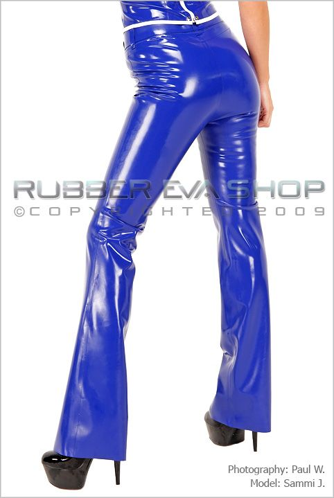 Belted Bootleg Trousers