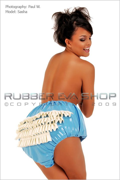 Frilly Rubber Rumba Pants