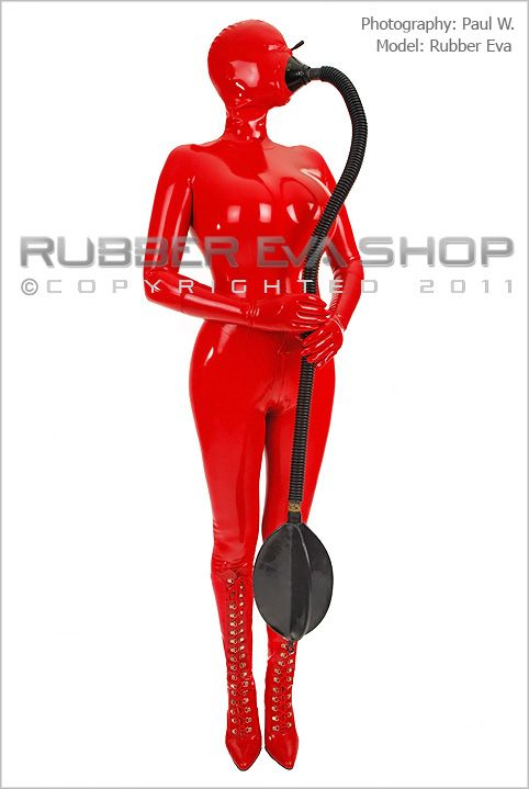 Rubber Tube & Rubber Re-Breather Bag