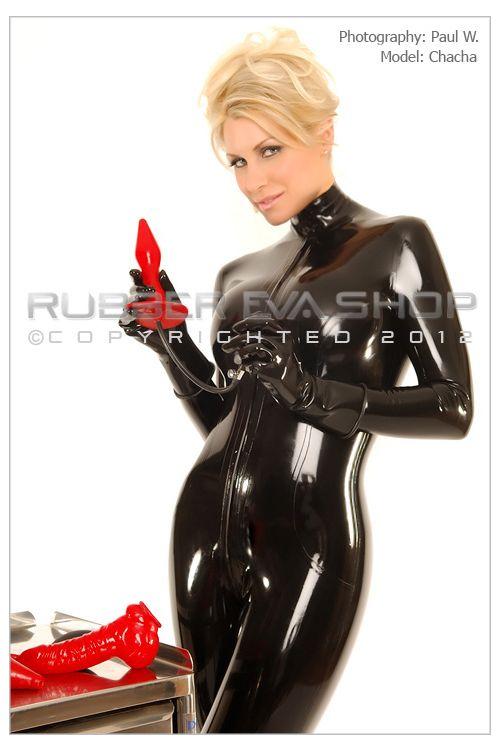 Long Slim Inflatable Rubber Plug