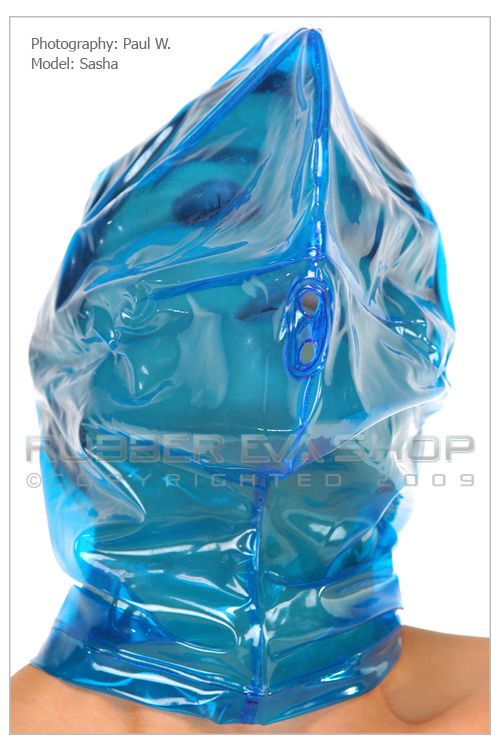 Plastic Hood With Breathing Holes