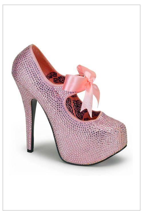 Teaser Platform Shoe Style Rhinestone 4