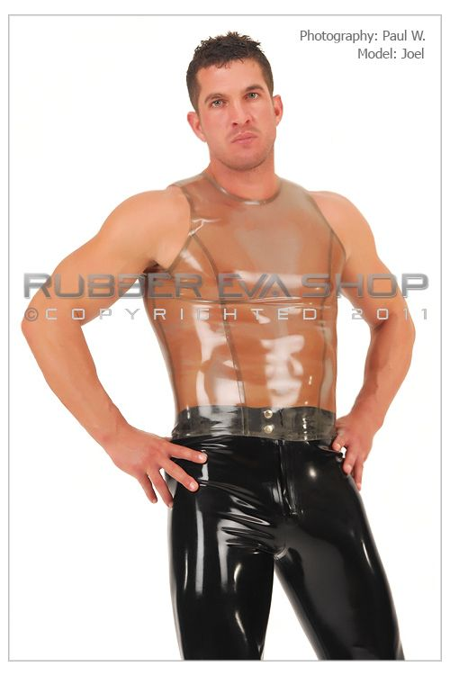 Mens Rubber Vest Top