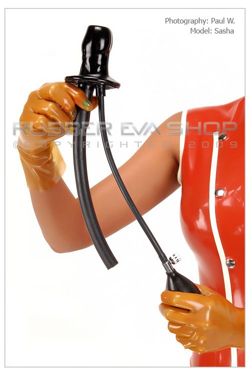 Inflatable Latex Airway Gag
