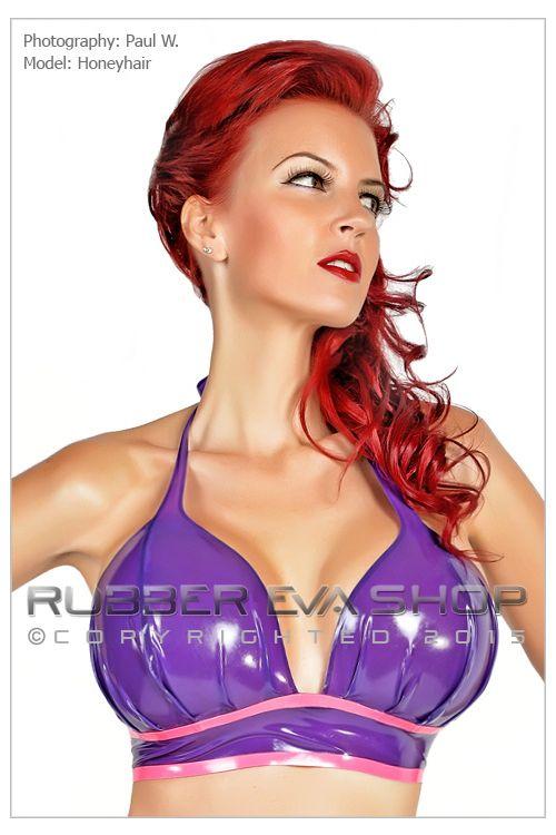 Rubber Harem Bikini Top