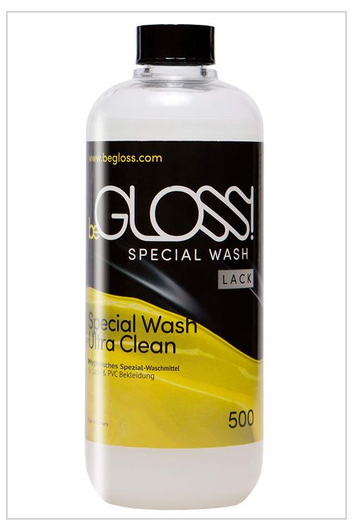 beGLOSS Special Plastic and Vinyl Wash