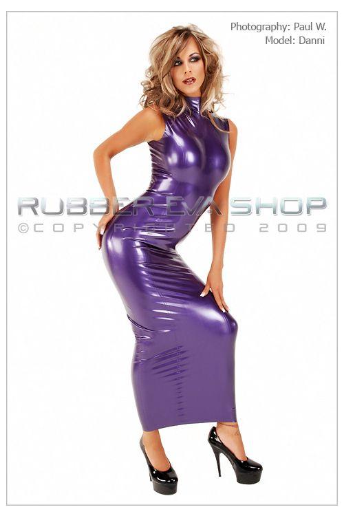 Ankle Length Hobble Dress