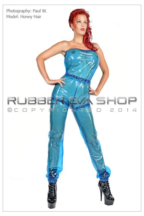Stephanie Bowman Plastic Slimming Suit