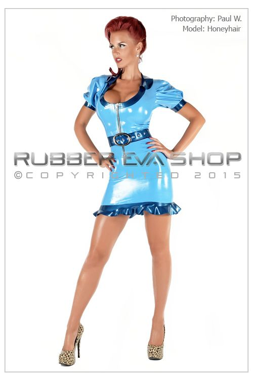 Latex Sailor Suit