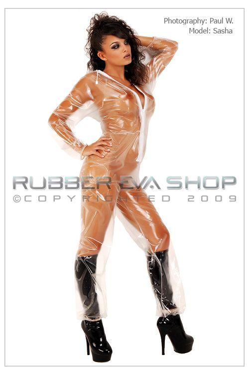 Unisex Plastic Jogging Suit