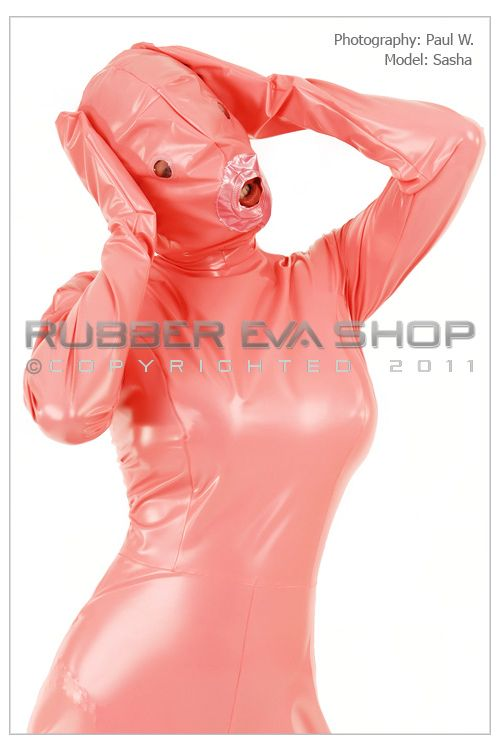 Total Enclosure Plastic Dolly Catsuit