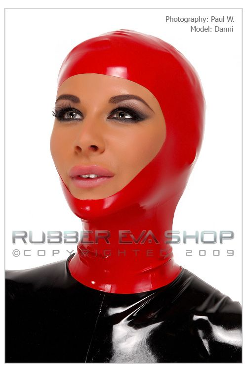 Open Faced Rubber Hood