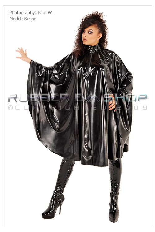 Long Rubber Cape