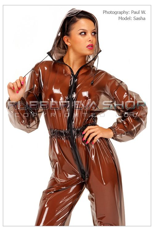 Mens PVC Breathplay Jogging Suit