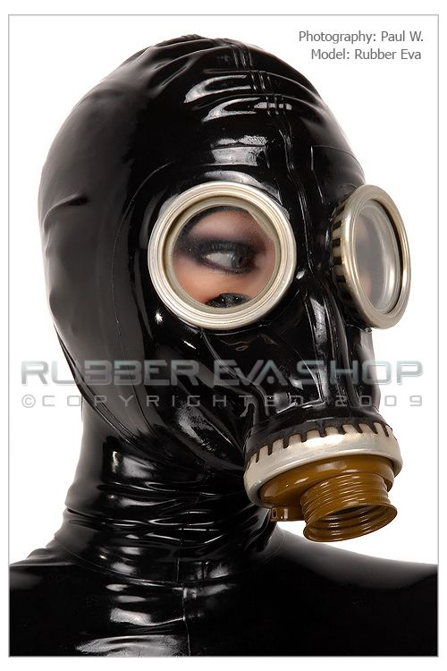 Russian Rubber Gasmask