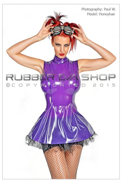 Steampunk Rubber Dress