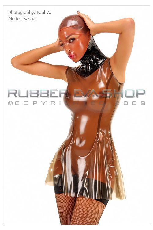 Rubber Neck Corset Hood