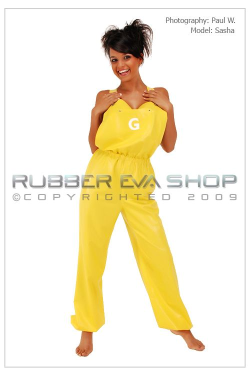Rubber Dungarees