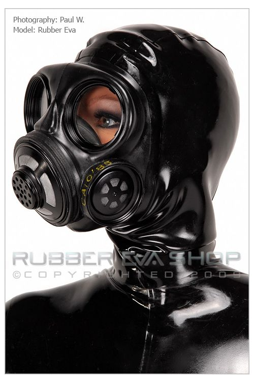 Rubber Hooded Danish Gas Mask