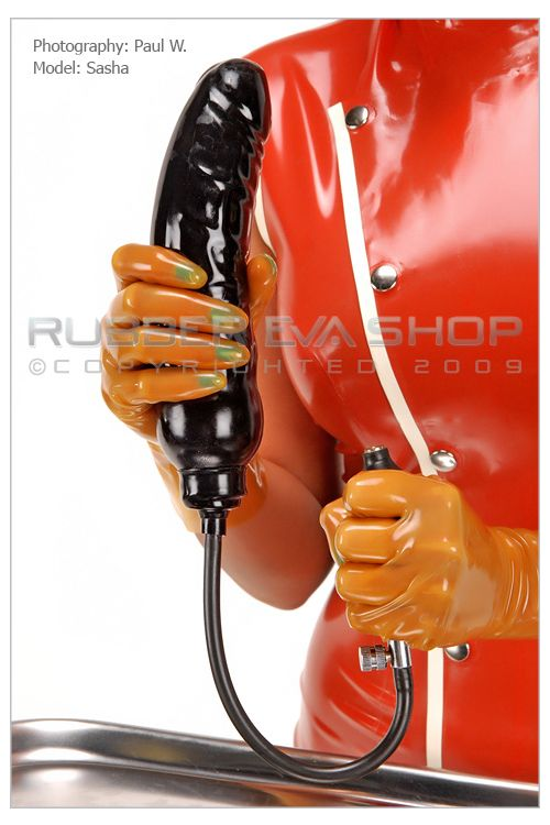 Large Inflatable Rubber Dildo