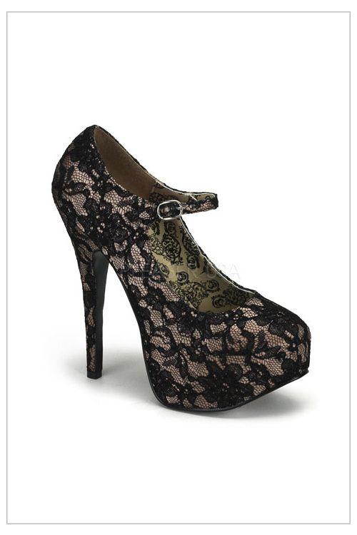 Teaser Platform Shoe Style Lace 7