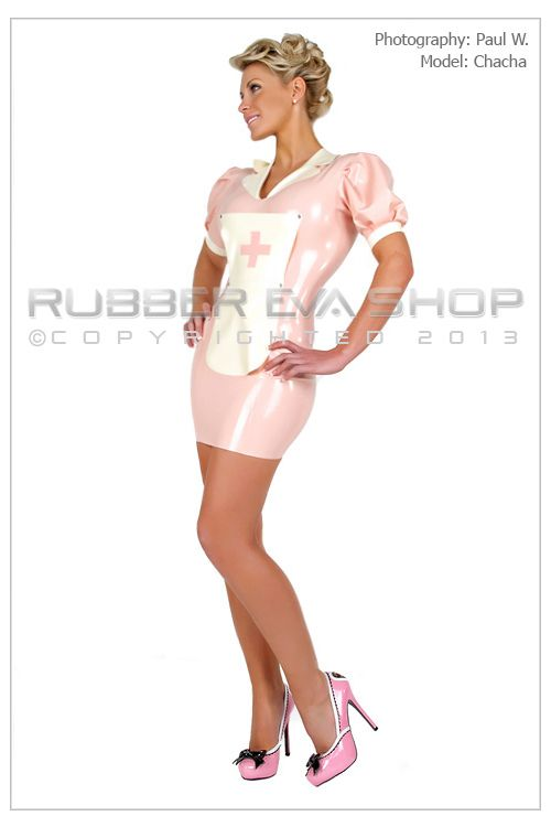 Sexy Rubber Nurse Dress